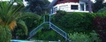 Villa con vista mare, giardino e piscina